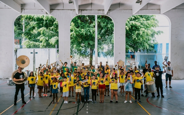 DYJA Delighted to support Favela Brass
